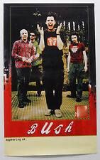 "Bush ""Sixteen Stone"" Promo Poster 20""x33"" Gavin Rossdale"