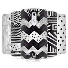 Fundas y carcasas Head Case Designs color principal blanco para teléfonos móviles y PDAs LG