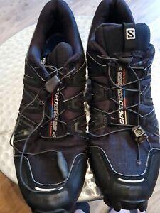 Salomon Speedcross 4  Trail Running  Mens size 11 PLEASE READ DESCRIPTION