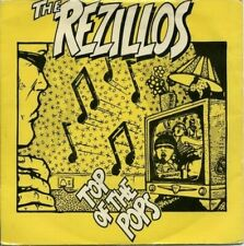 "THE REZILLOS TOP OF THE POPS 45RPM 7""  REPRODUCTION PICTURE SLEEVE ONLY"