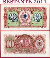 ALBANIA  -  10 LEKE 1957 - P 28 -  FDS /UNC