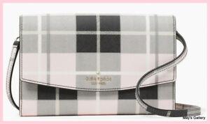 Kate Spade Handbag Crossbody Wallet Shoulder laurel way woodland plaid winni