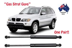 BMW X5 Gas Strut Pair suit E53 2000 TO 2006 Wagon Front Bonnet OEM Quality