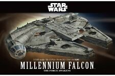 Star Wars Plastic Model Kit 1/144 MILLENNIUM FALCON Bandai Japan NEW **