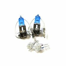 For Nissan 300ZX Z32 100w Super White Xenon HID Low Dip/LED Side Light Bulbs Set