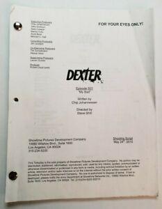 "DEXTER / Chip Johannessen 2010 TV Show Script, Trinity Killer ""My Bad"""
