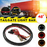 48''inch Tricolor LED Rear Brake Signal Reverse Tailgate Light Strip SUV Truck