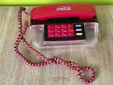 Téléphone publicitiare vintage Coca-Cola non testé pour collectionneur