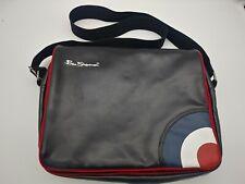 Ben Sherman Leather Messenger / Laptop Bag Travel Shoulder Bag Computer Case