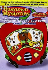 NEW DVD - BUSYTOWN MYSTERIES - ZOOMING AROUND BUSYTOWN - RICHARD SCARRY
