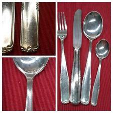Besteck 90 er Silber Auflage WELLNER Patent 48 teilig 12 Personen