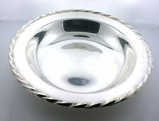 Towle 6 Inch Wide  x  9/10 Inch Deep Pure Sterling Silver Bowl 107.6 Gram AS20