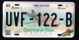 Mexico, Quintana Roo License plate, 2014