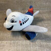 Delta Airlines Airplane Stuffed Plush Plane Stuffed Stuffy Toy pilot