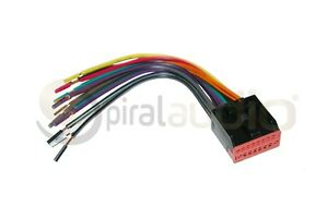 Reverse Reversal Radio Wire Harness OEM Factory Stereo Installation WH-1001
