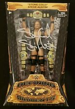 STONE COLD STEVE AUSTIN SIGNED WWE MATTEL ELITE DEFINING MOMENTS AUTOGRAPH JSA