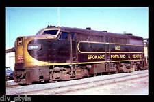Spokane, Portland & Seattle ALCO FA1 #863 passenger train railroad postcard