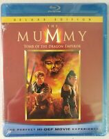 The Mummy: Tomb of the Dragon Emperor (Blu-ray, 2008) Brendan Fraser, Jet Li NEW
