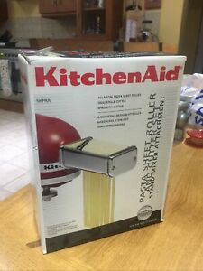 Kitchen Aid 3 piece Pasta Roller and Cutter set attachments model 5KPRA