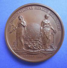 More details for great britain - international health exhibition medal 1884 / victoria regina.