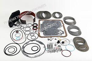4L60E 4L65E Transmission Rebuild Kit 2004-2011 Alto Frictions Deep Filter Band