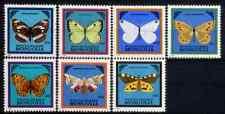 MONGOLIA 1986 - SET BUTTERFLIES / MOTHS MNH