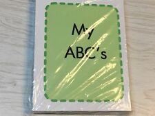 MY  ABC'S  Preschool  Flash Card set