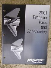 2001 Mercury Marine Propeller Parts Accessories Catalog CHECK OUT OUR STORE  U
