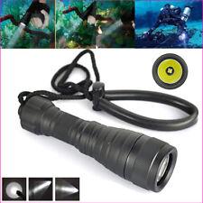 5000lm Xm-l2 LED Underwater 200m Diving Scuba Flashlight Waterproof Torch Lamp