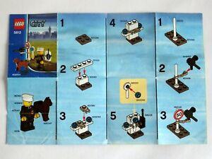 Istruzioni lego Montaggio Completo Manuali N.5612 City