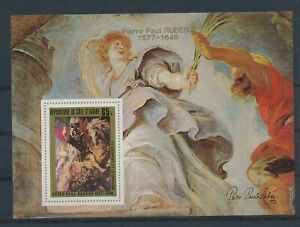 LN22944 Ivory Coast Rubens art paintings good sheet MNH