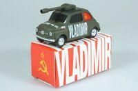 1:43 BRUMM FIAT 500 Vladimir Putin KGB Russia Sowjet USSR UdSSR DDR Kremlin OVP