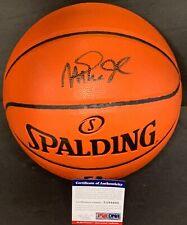 Magic Johnson Los Angeles Lakers Autographed Signed NBA Basketball PSA COA