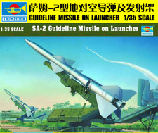Trumpeter 00206 1/35 Assemble model,SA-2 Guideline Missile on Launcher