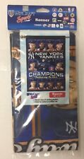 2000 WORLD SERIES Banner YANKEES Champions  27 X 41 Subway Series NEW
