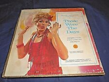 THOSE WERE THE DAYS 6 LP RECORD ALBUM BOX SET LONGINES SYMPHONETTE SOCIETY