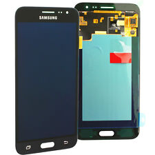 ORIGINALE Samsung Galaxy j3 (2016) j320f LCD Display Touch Screen-Nero Black