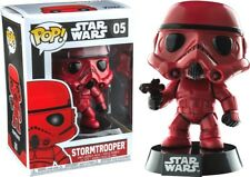 Exclusiv Star Wars rot Stormtrooper 9.5cm POP Vinyl Figur Funko 05 UK Verkäufer