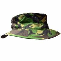 S95 DPM Camouflage Bush Hat British Army Boonie Sun Cap Military Camo Surplus UK