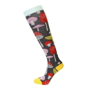 Women's Mushroom Socks (Pair) Knee-High Socks