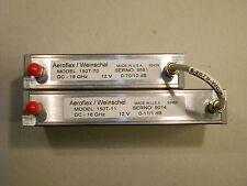 coppia attenuatori Weinschel   - microwave rf microonde attenuator