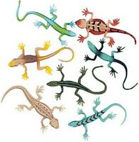 Pack of 12 - Small Lizards - Party Loot Bag Fillers