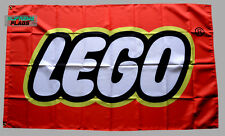 Lego Flag Banner 3x5 ft USA Toy Red