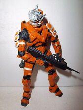 Halo 3 **UK EUROPE EXCL ORANGE HAYABUSA SPARTAN** McFarlane Complete w/ Weapons!