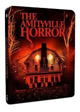 THE AMITYVILLE HORROR James Brolin BLURAY Steelbook Limited in Inglese NEW .cp
