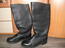 Soviet Russian Leather Officer Juft Jack Boots Military USSR Uniform 41