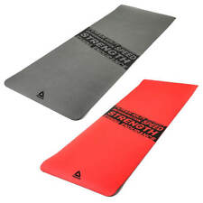 Reebok Strength Fitness Mat Exercise Large 8mm Thick Gym Yoga Training Workout