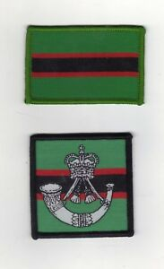 THE RIFLES/BRITISH ARMY UNIT ID/MORALE AND TACTICAL RECOGNITION FLASH