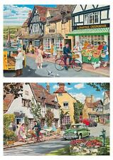 Gibsons The Postman's Round Jigsaw Puzzles (2 x 500 Pieces)