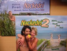 BÜHNE Frei Nackedei Teil 1 + 2 Mensch Natur FKK Akt Fotos Freikörperkultur Buch